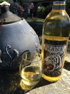 Sakonnet Vineyards wine